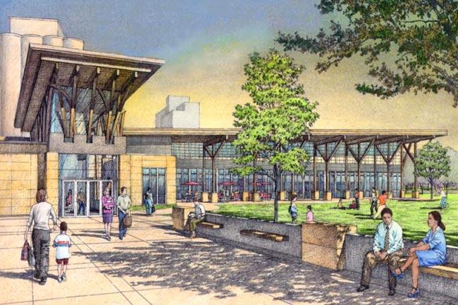 New Concept Design Newton Public Library