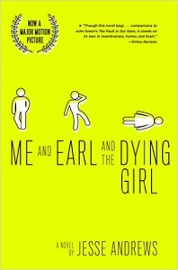 Me and Earl and the Dying Girl book