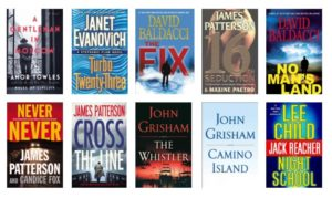 Top Ten Fiction Books Read At Npl In 2017 Newton Public Library