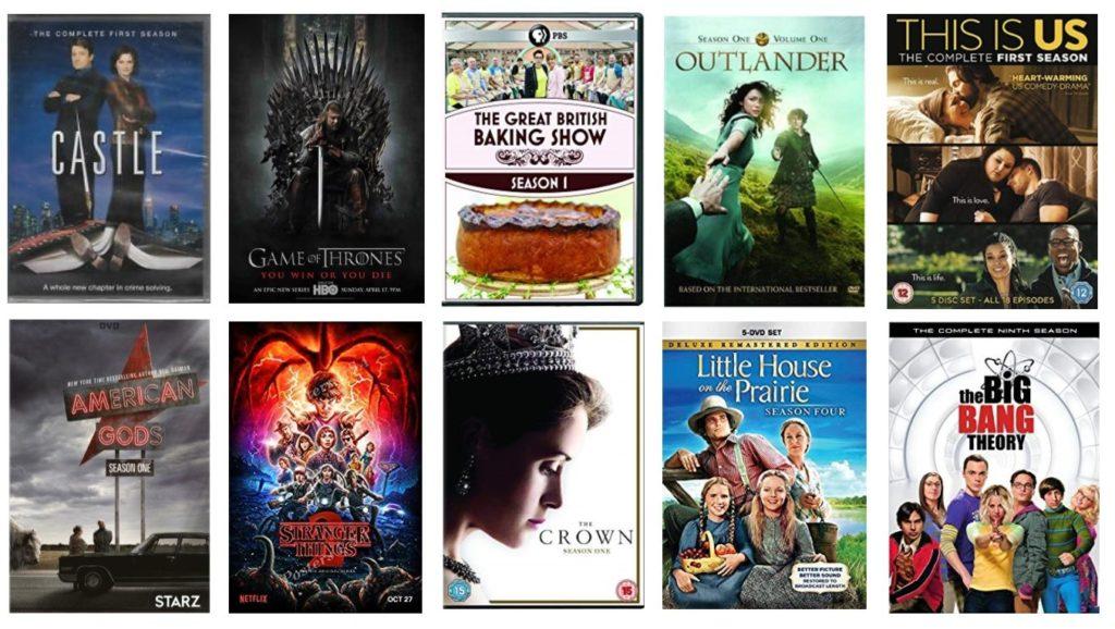 Top Ten Circulating TV Series in 2018 - Newton Public Library