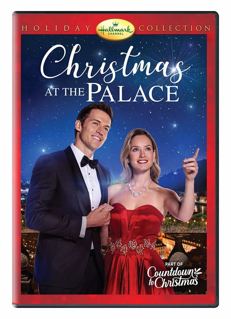 Cover of Christmas at the Palace, DVD movie from Hallmark.