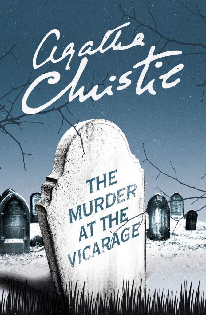 Cover of Murder at the Vicarage by Agatha Christie.
