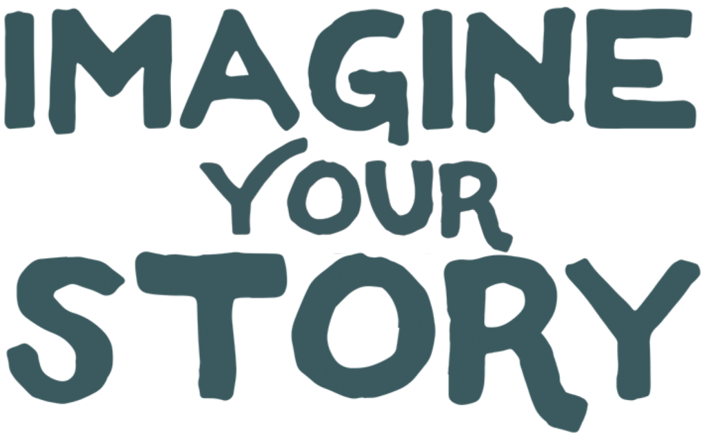 """Logo with text: """"Imagine Your Story."""""""