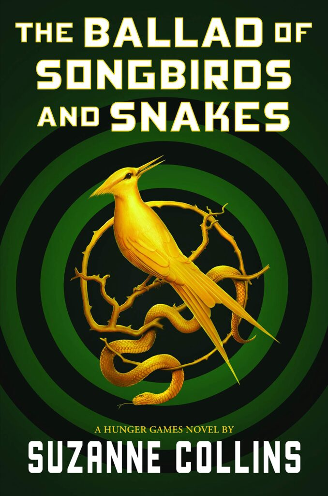 "Cover of ""The Ballad of Songbirds and Snakes."""