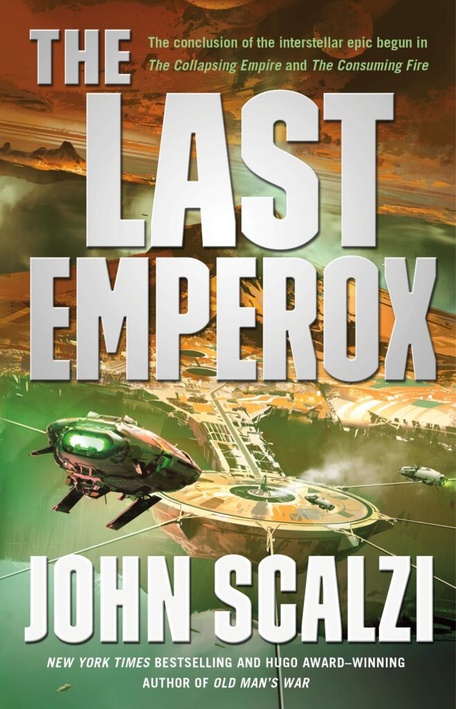 """Cover of """"The Last Emperox."""""""