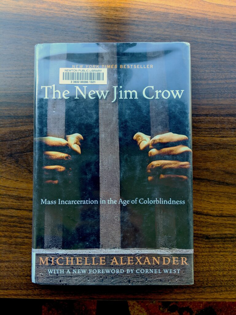 """Cover of """"The New Jim Crow"""""""