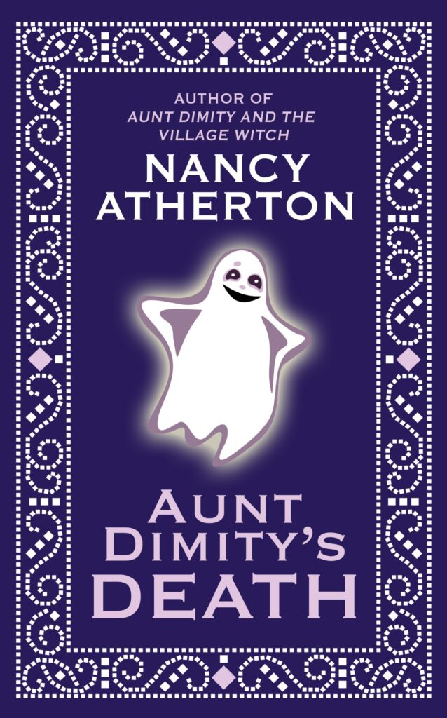 "Cover of ""Aunt Dimity's Death,"" by Nancy Atherton."