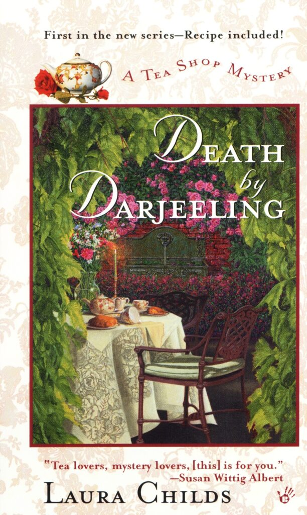 "Cover of ""Death by Darjeeling,"" by Laura Childs."