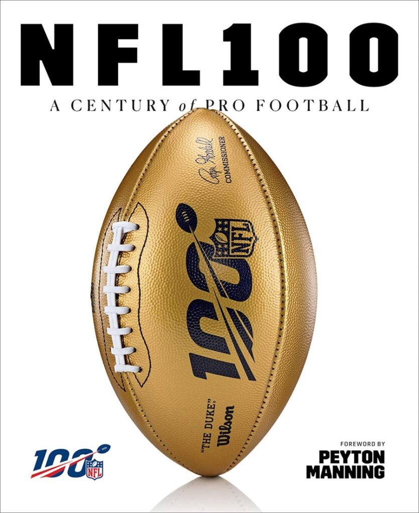 "Cover of ""NFL 100: A Century of Pro Football"""