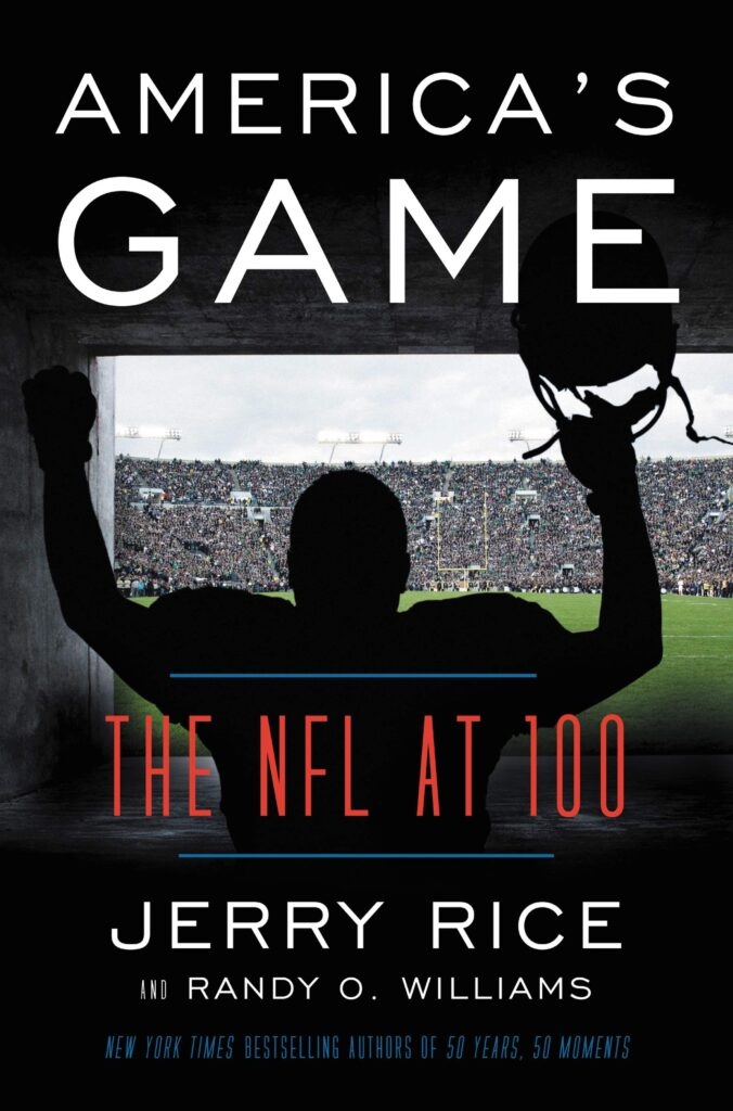 "Cover of ""America's Game: The NFL at 100"""