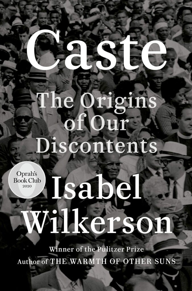 "Cover of ""Caste: The Origins of Our Discontents,"" by Isabel Wilkerson."