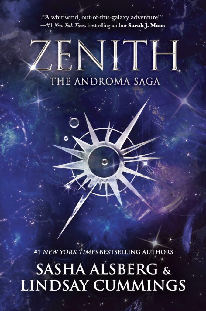 Cover of Zenith by Sasha Alsberg and Lindsay Cummings.