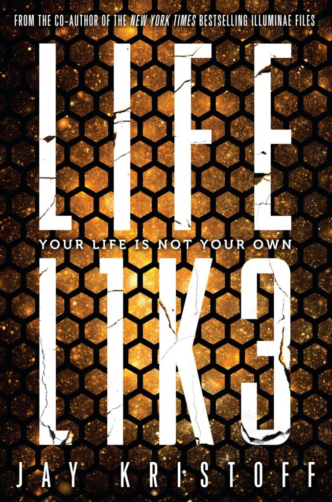 Cover of LIFEL1K3 by Jay Kristoff.