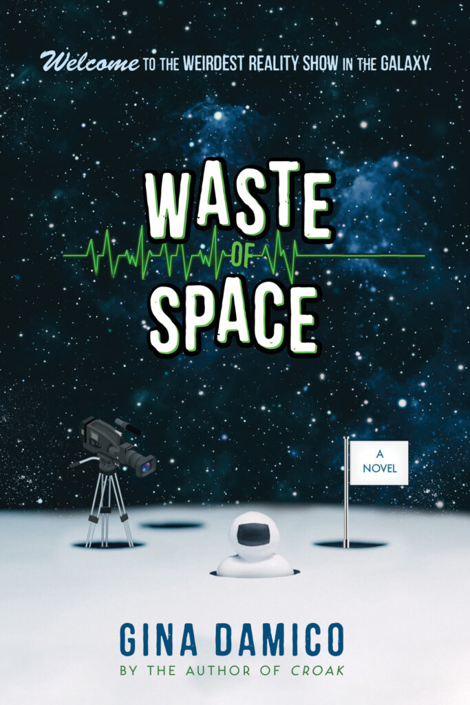 Cover of Waste of Space by Gina Damico