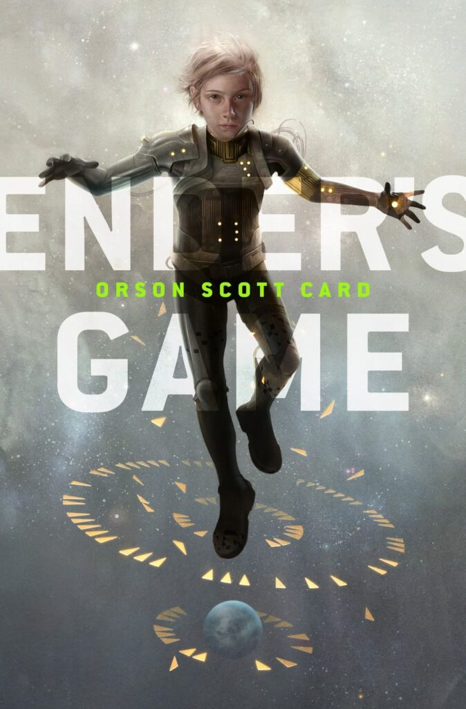 Cover of Ender's Game by Orson Scott Card.
