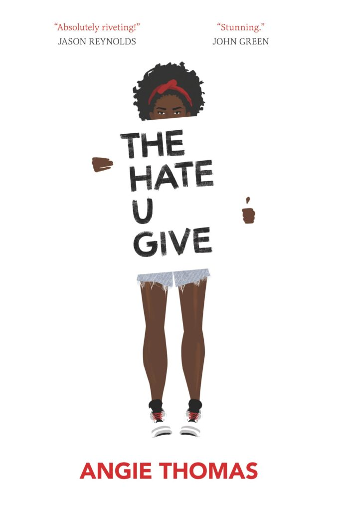 """Cover of """"The Hate U Give."""""""