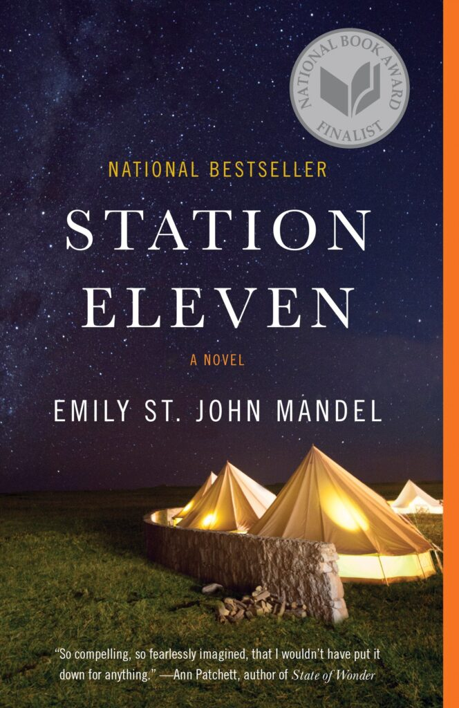 """Cover of """"Station Eleven."""""""